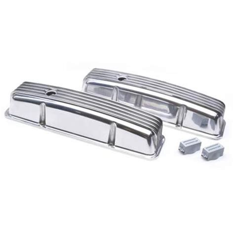 Small Block Chevy Tall Finned Valve Covers