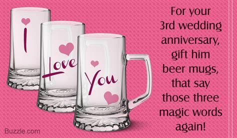 3rd anniversary gift ideas for simply awesome 3rd wedding anniversary gift ideas for husband