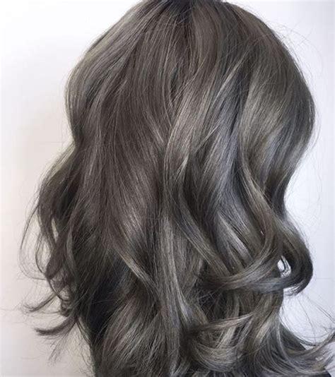 ash brownbrunette hair style easily