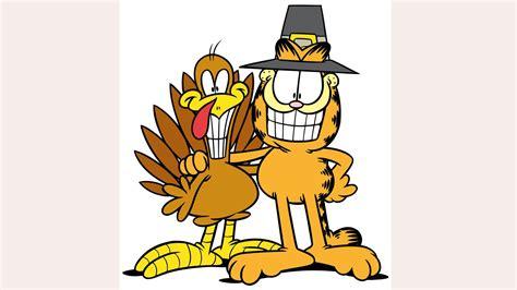 Garfield Thanksgiving Clipart