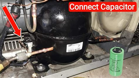 Refrigerator Compressor Wiring Relay Over Load With