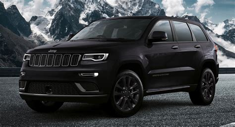 jeep grand cherokee  launches  europe  blacked