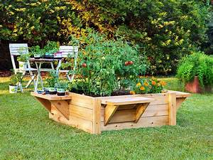 Ease, Into, Gardening, With, A, Raised, Bed
