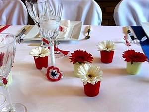 Idée Déco Table Anniversaire : decoration de table anniversaire 70 ans ~ Melissatoandfro.com Idées de Décoration