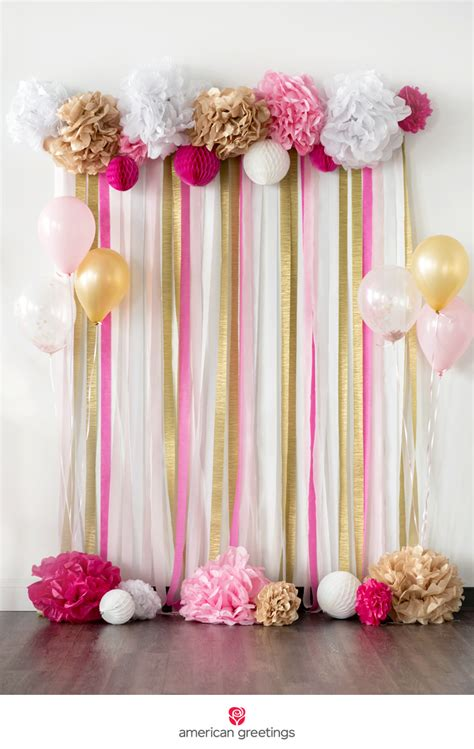 pink  gold birthday party ideas pink gold birthday