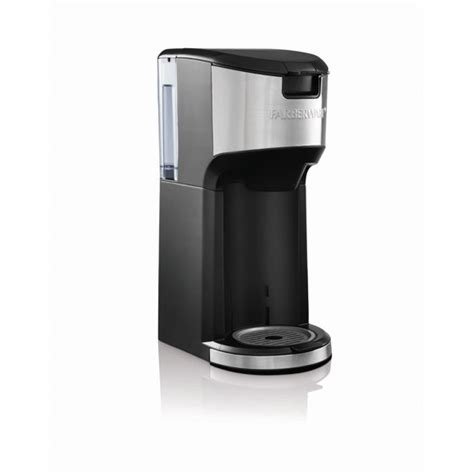 Buying a machine with a large container of coffee is just a waste keurig k155 coffee machine offers valuable features that impress everyone. FARBERWARE SINGLE SERVE K-Cup and Brew COFFEE MAKER ...