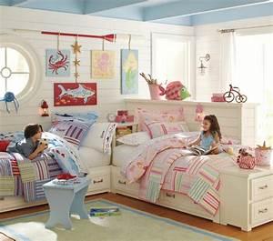 Kinderzimmer Für Zwei : kinderzimmer f r zwei gestalten 15 interessante einrichtungsideen ~ Indierocktalk.com Haus und Dekorationen