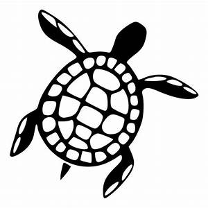 Black And White Turtle Tattoos
