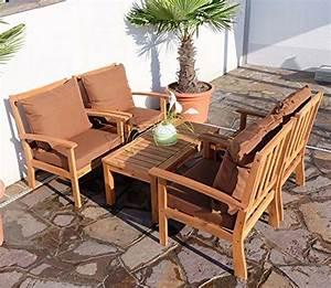 Lounge Set Holz : lounge sofa garten holz ~ Whattoseeinmadrid.com Haus und Dekorationen
