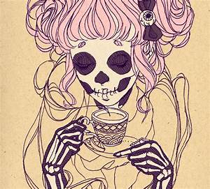 skeleton girl on Tumblr
