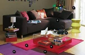 Alinea Luminaire Salon : tapis coussins et luminaire salon alinea ~ Teatrodelosmanantiales.com Idées de Décoration
