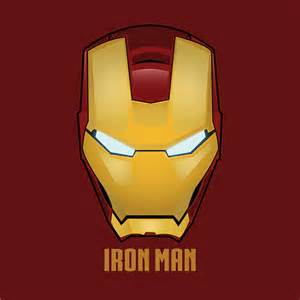 Iron Man Face Vector