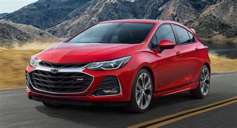 2019 Chevrolet Cruze Rs Trim Leads The Pack Carscoops