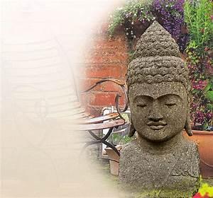 Buddha Figur Bedeutung : buddha figuren bedeutung buddhakopf aus stein ~ Buech-reservation.com Haus und Dekorationen