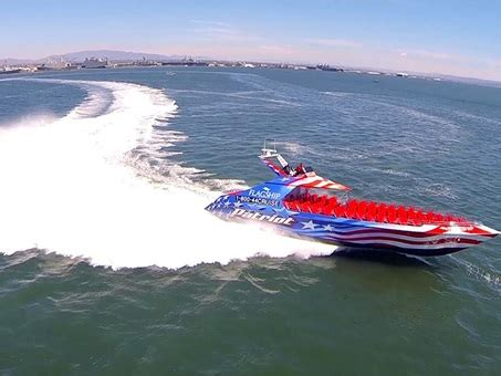 Boat Rides In San Diego by Nothing Says Freedom Like A High Speed Boat Ride Through