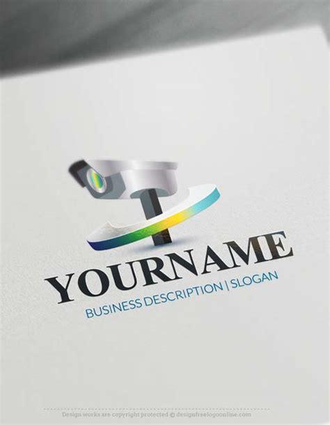 logo maker cctv camera logo design