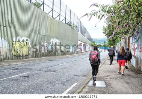 Peace Lines Peace Walls Series Separation Stock Photo ...