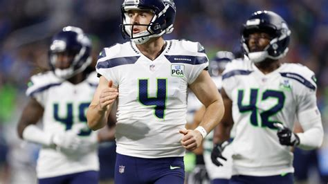 seahawks punter michael dickson   strong