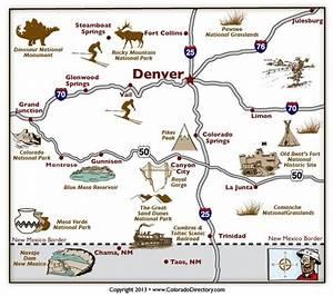CO map Major roads/cities | Colorado History | Pinterest