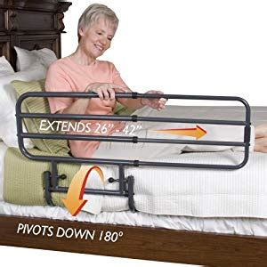 Bed Rail For Elderly by Stander Ez Adjust Pivoting Home Bed Rail 3