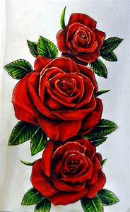Best Red Rose Tattoo Ideas And Images On Bing Find What Youll Love
