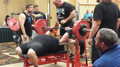 world record bench press world record 529 pounds 53 year kole 2015