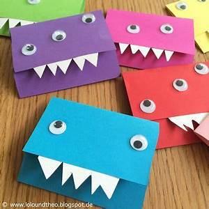 Basteln Mit Kindern 5 Geburtstag : monstereinladungen f r den kindergeburtstag kindergeburtstag ~ Whattoseeinmadrid.com Haus und Dekorationen