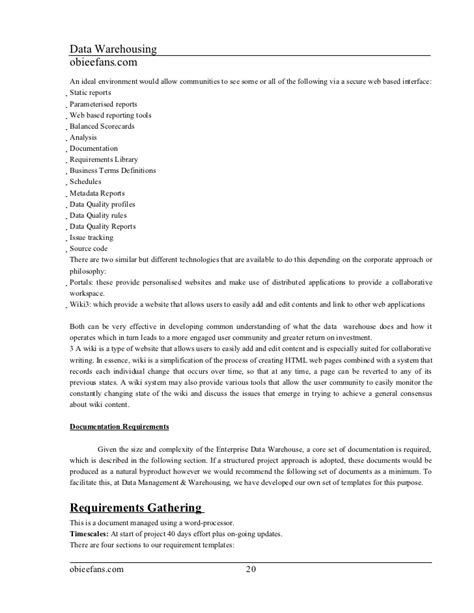 Data Warehouse Project Manager Resume by Data Warehouse Manager Resume For Free Resumecompanion