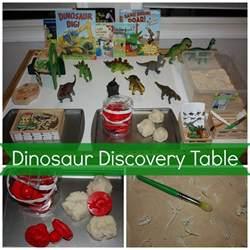 Dinosaur Discovery Table