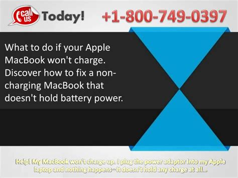 what to do if your iphone wont charge ppt 8007490397 how to fix macbook won t turn on won t
