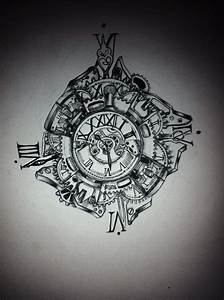 Tatouage Horloge Dessin : pin by dawn gilliland on time ~ Melissatoandfro.com Idées de Décoration