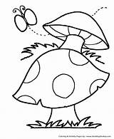 Coloring Pages Simple Shapes Printable Activity Fun Shape Mushroom Objects Creative Help Sheets Adults Toddlers Spotted Honkingdonkey Pre Primary Recognize sketch template