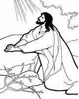 Jesus Coloring Pages Door Knocking Christ Printable Christmas Getcolorings Awesome sketch template