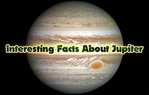 Interesting Facts About Jupiter | Did You Know Science