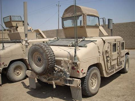 M1114 Up-armored Hmmwv Humvee Armament Carrier Armour Kit