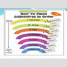 Order Of Adjectives  Online Presentation