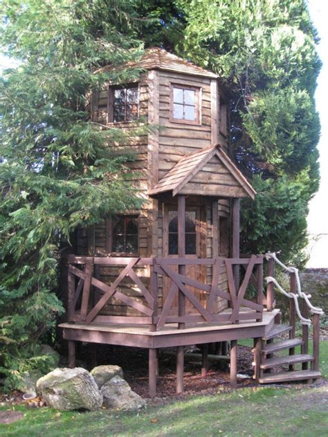 Treehouses For Kids For A Surprise Gift Homestylediary
