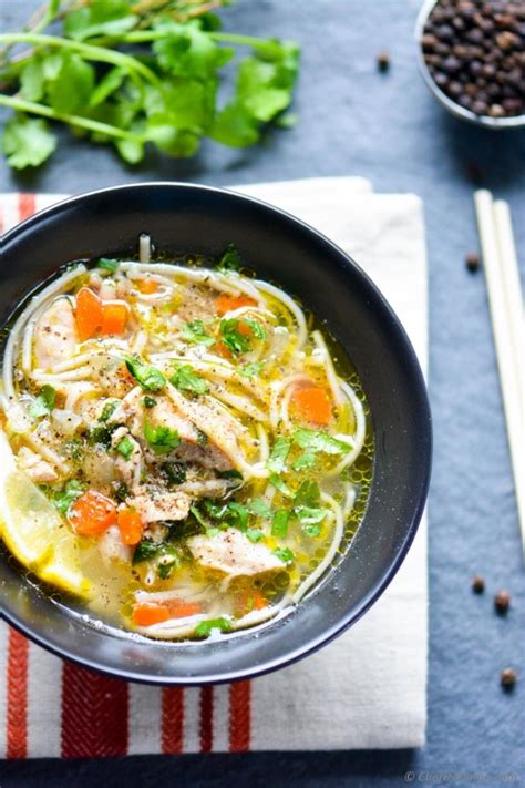 chicken noodle soup cooker chicken noodle soup in pressure cooker recipe chefdehome com