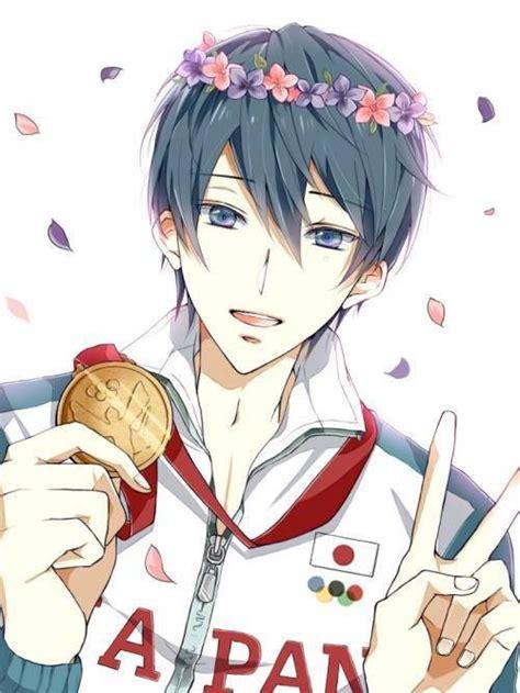 Gold Free Iwatobi Swim Club Haruka Nanase Haru