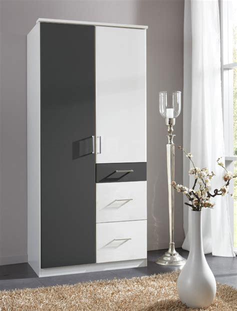 couleur de porte d armoire de cuisine armoire 2 portes 3 tiroirs click blanc anthracite