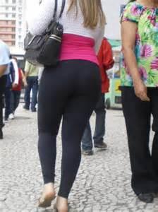 Chubby Blonde Teen Yoga Pants