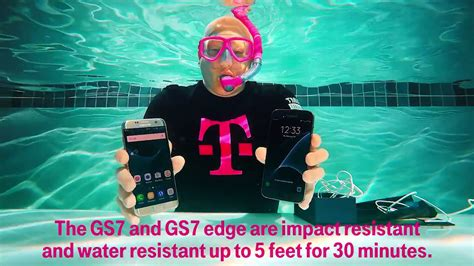 tmobile phone claim t mobile tests waterproof galaxy s7 claims with an