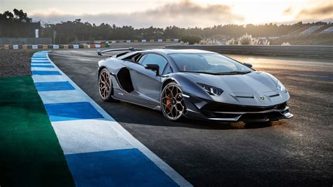 lamborghini aventador svj 2019 4k wallpapers hd