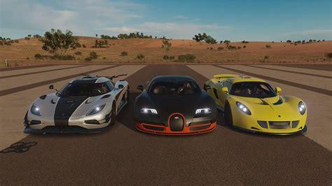 Bugatti Veyron Super Sport Vs Hennessey Venom Gt Vs