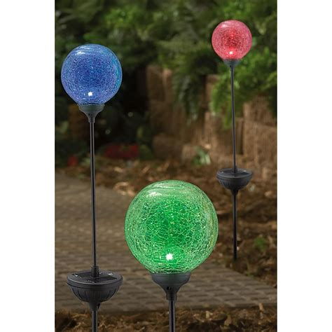 6 pk westinghouse 174 crackle sphere solar lights 164823