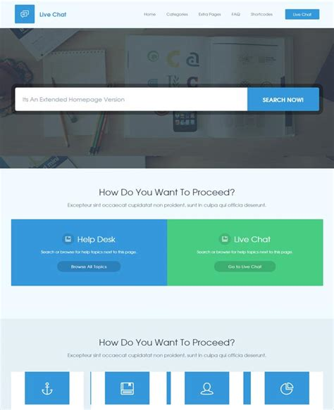 live chat help desk 50 awesome technology website templates
