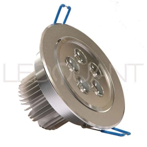 dimmable 5w recessed led lighting fixture recessed