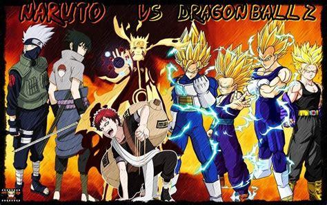 Naruto Vs Dragon Ball Z Anime Amino