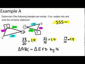 SSS Similarity | CK-12 Foundation