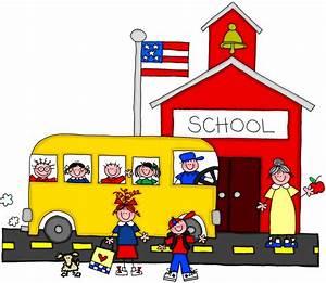 School Arrival Clipart (50+)
